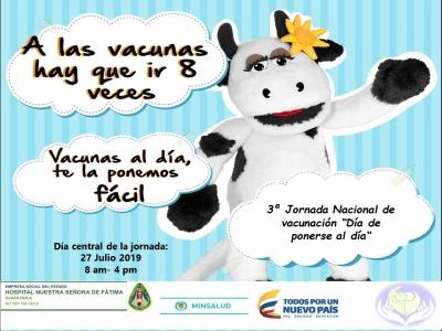 3ra. Jornada Nacional de Vacunación