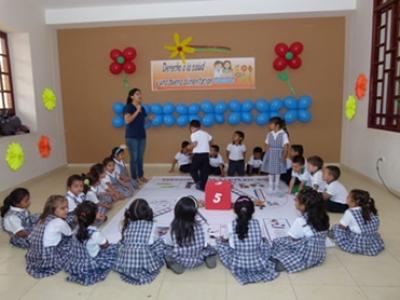 Feria de los derechos de niños y niñas