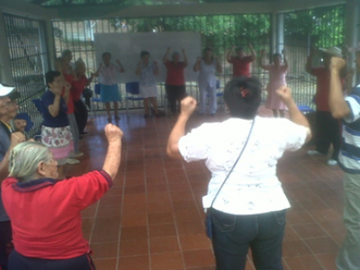 Actividades educativas y de recreación con la población de la tercera edad