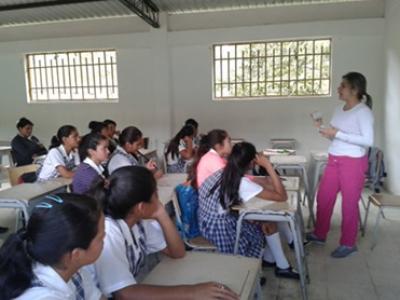 Asesorías en salud sexual y reproductiva en instituciones educativas