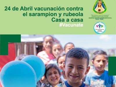 """""""Las vacunas nos acercan. #Vacunate""""."""