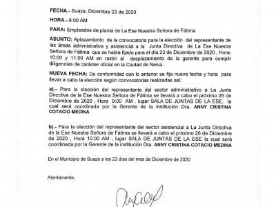 CIRCULAR NO. 010 (23 DE DICIEMBRE DE 2020)